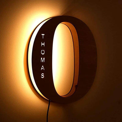Personalized Custom Letter Lamp