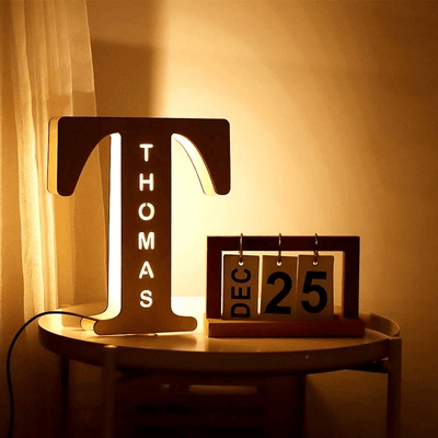 led letters light