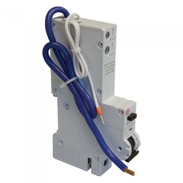 Wylex NHXSBS1B6 Type B 30mA RCBO for Wylex NH Consumer Units - 6A
