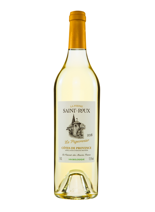 Château Saint-Roux Pigeonnier White 2018 - Single Bottle