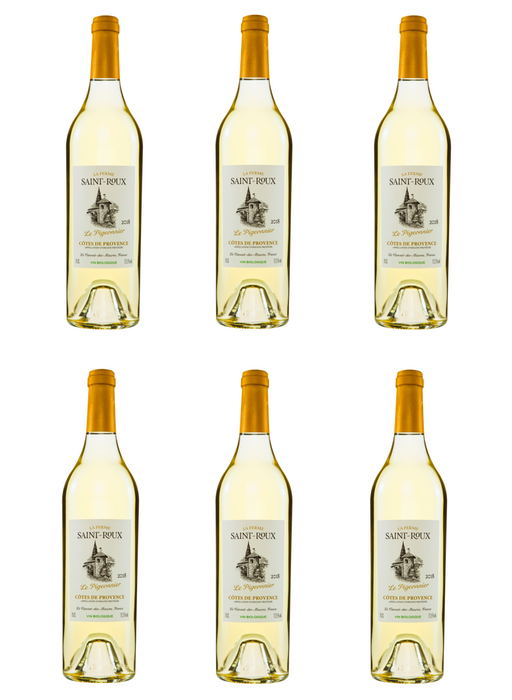 Château Saint-Roux Pigeonnier White 2018 - Case of Six