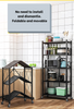 Foldable Storage Rack Organizer