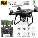 4K Camera Rotation Waterproof Professional S32T Drone