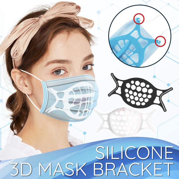 Silicone 3D Mask Bracket (4PCS)