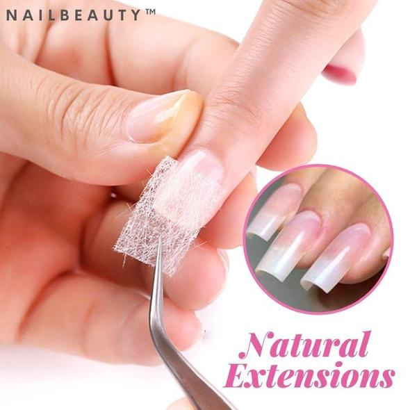 NailBeauty  Silk Fiberglass Nail Extension (10PCS)