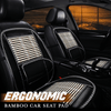 Ergonomic Bamboo Car Seat Pad