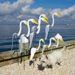 Swirl Bird-A Whimsical And Dynamic Bird That Spins With The Slight Garden Breeze (10pcs)