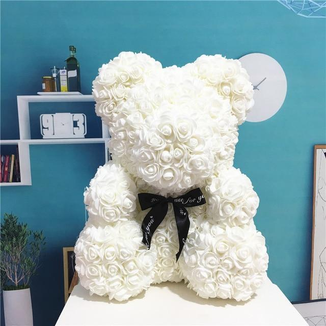 THE LUXURY ROSE TEDDY BEAR