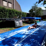 Air track inflatable cushion, used for swimming pool, beach, lawn leisure, cheerleading training