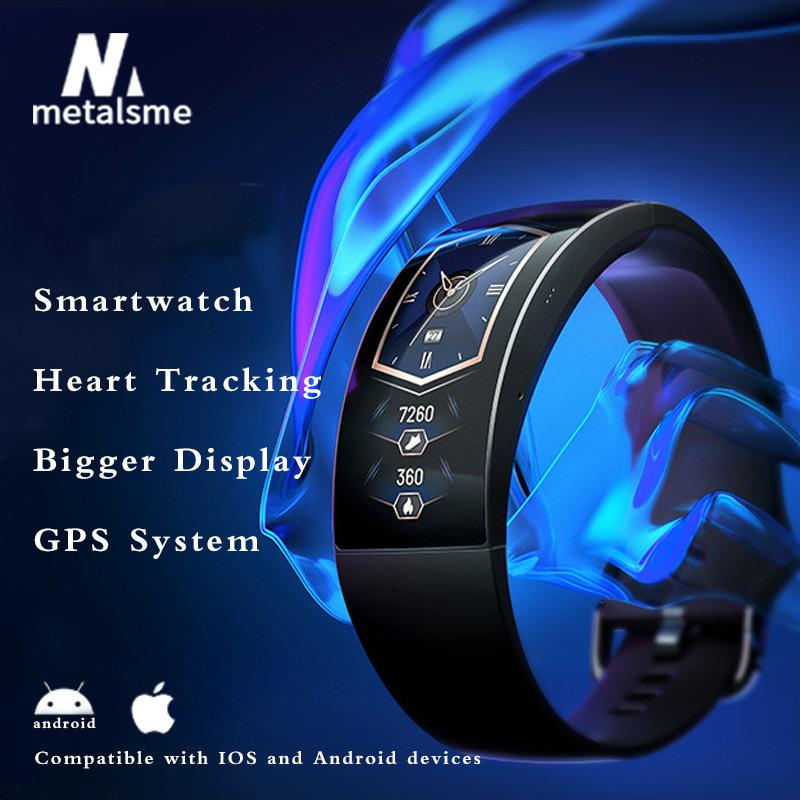 Curved Smart Watch with 24/7 Heart Tracking(Free Shipping)