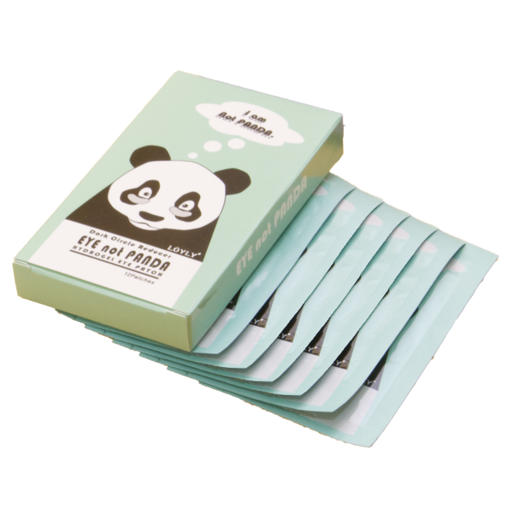 EyesnotPanda Hydrogel Undereye Patches 6 pairs x 1 box