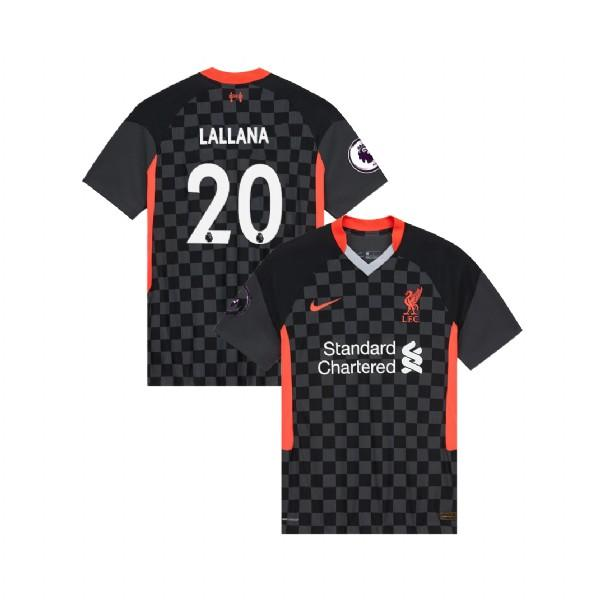 Liverpool 2020/21 Adam Lallana Third Jersey