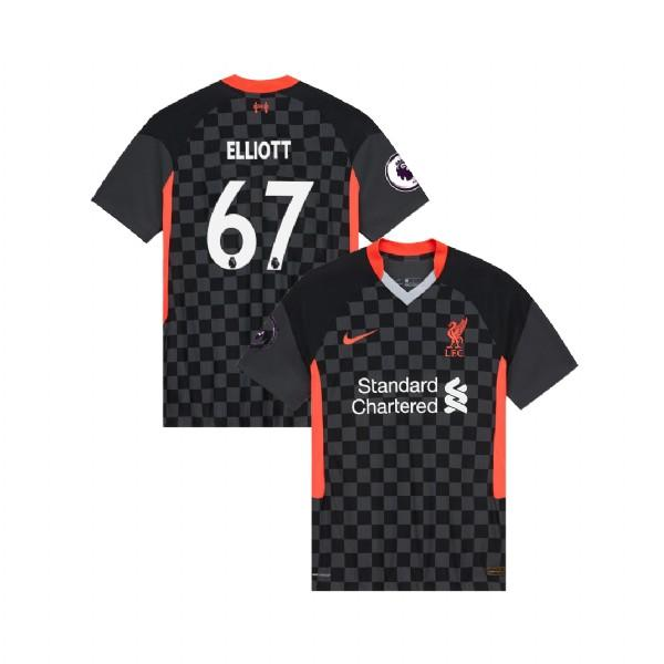 Liverpool 2020/21 Harvey Elliott Third Jersey