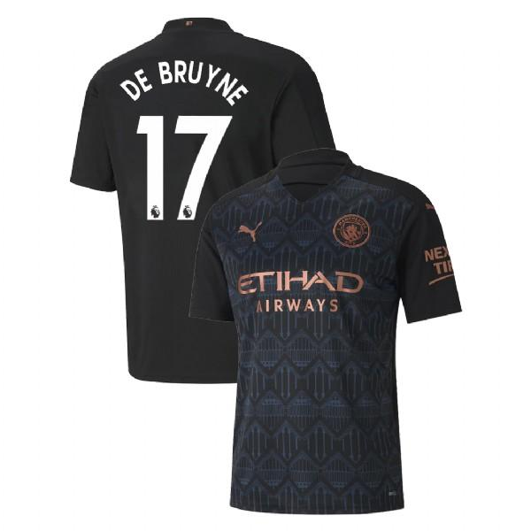 Manchester City 2020/21 Kevin De Bruyne Away Jersey