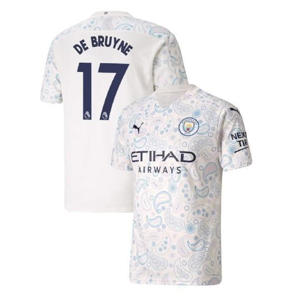 Manchester City 2020/21 Kevin De Bruyne Third Jersey