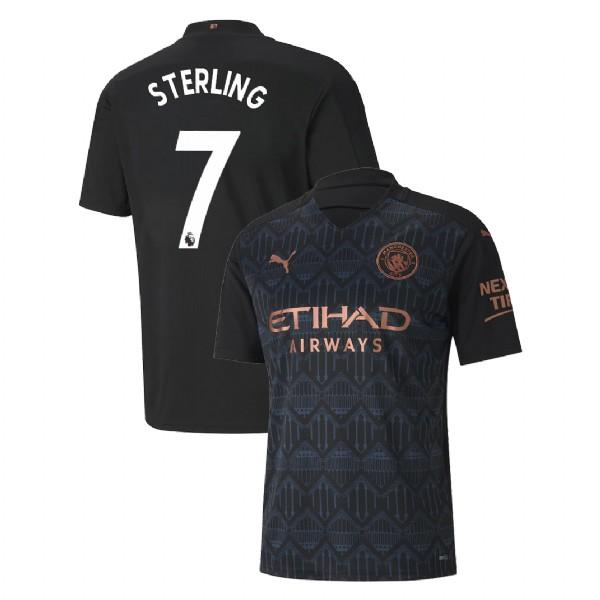 Manchester City 2020/21 Raheem Sterling Away Jersey