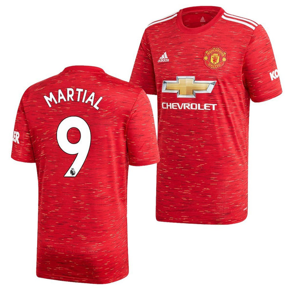 Manchester United 2020/21 Anthony Martial Home Jersey