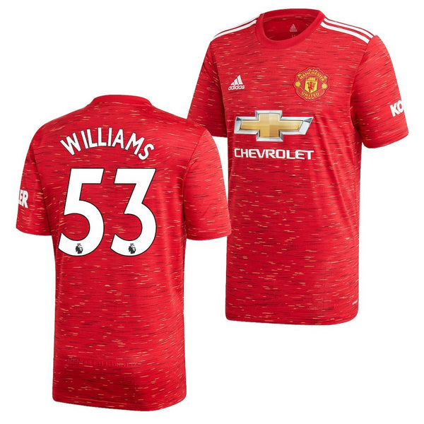 Manchester United 2020/21 Brandon Williams Home Jersey