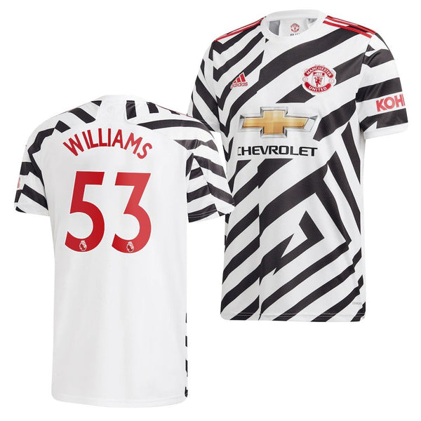 Manchester United 2020/21 Brandon Williams Third Jersey