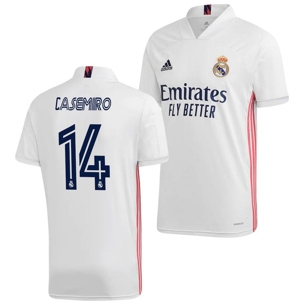 Real Madrid 2020/21 Casemiro Home Jersey