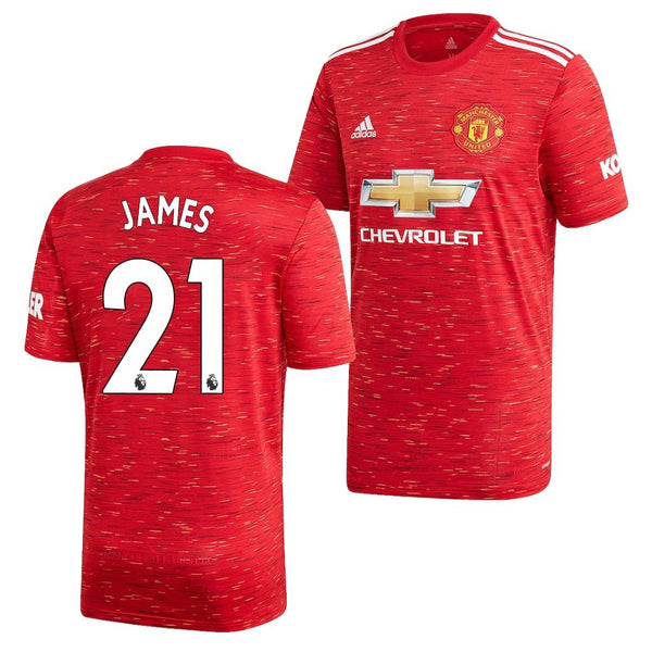 Manchester United 2020/21 Daniel James Home Jersey