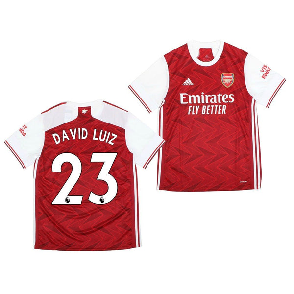 Arsenal 2020/21 David Luiz Home Jersey