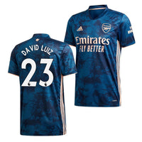Arsenal 2020/21 David Luiz Third Jersey