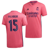 Real Madrid 2020/21 Federico Valverde Away Jersey
