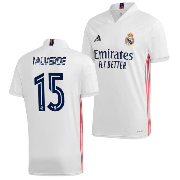 Real Madrid 2020/21 Federico Valverde Home Jersey