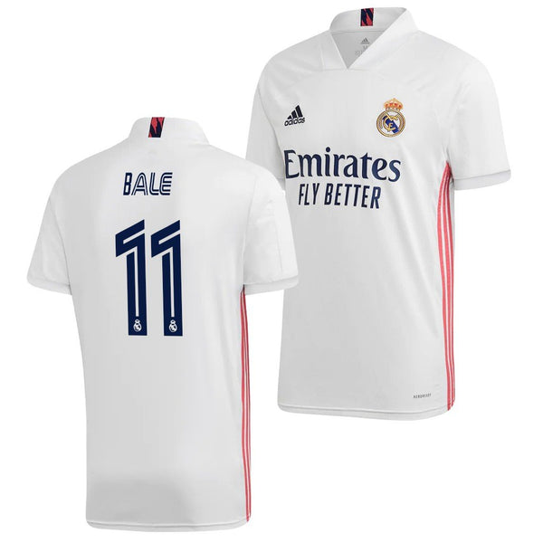 Real Madrid 2020/21 Gareth Bale Home Jersey