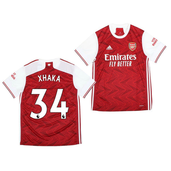 Arsenal 2020/21 Granit Xhaka Home Jersey
