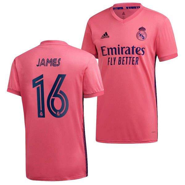 Real Madrid 2020/21 James Rodriguez Away Jersey