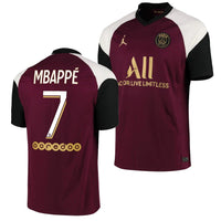 Paris Saint Germain 2020/21 Kylian Mbappe Third Jersey