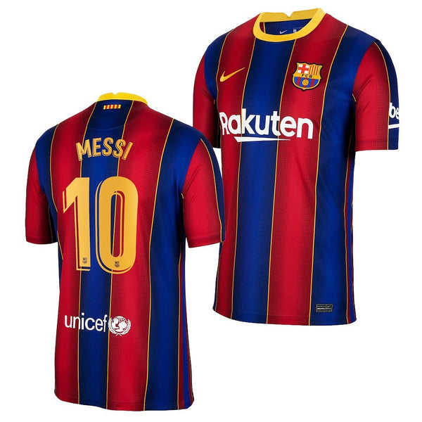 Barcelona 2020/21 Lionel Messi Home Jersey