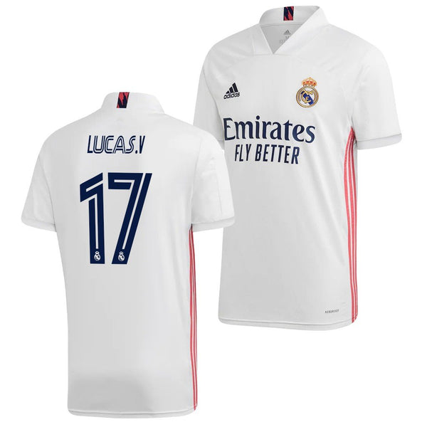Real Madrid 2020/21 Lucas Vazquez Home Jersey