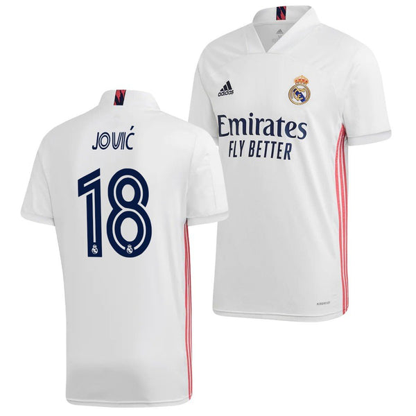Real Madrid 2020/21 Luka Jovic Home Jersey