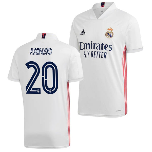 Real Madrid 2020/21 Marco Asensio Home Jersey