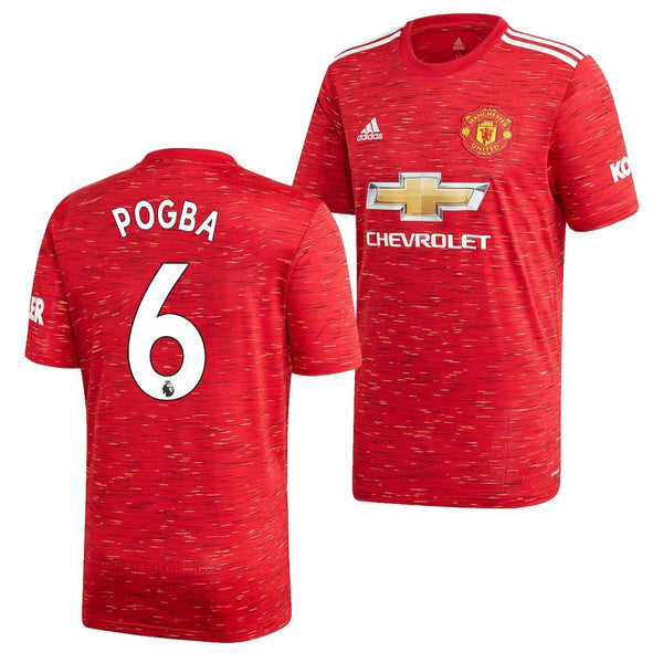 Manchester United 2020/21 Paul Pogba Home Jersey