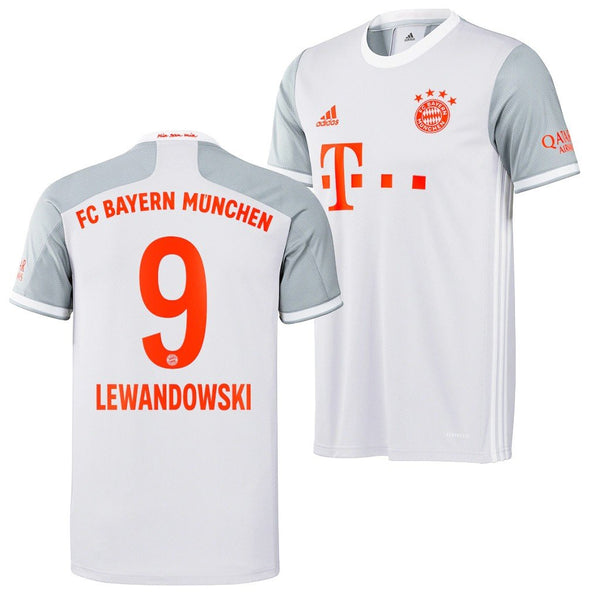 Bayern Munich 2020/21 Robert Lewandowski Away Jersey