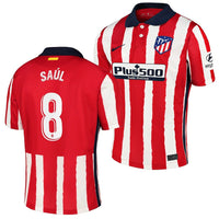 Atletico Madrid 2020/21 Saul Home Jersey