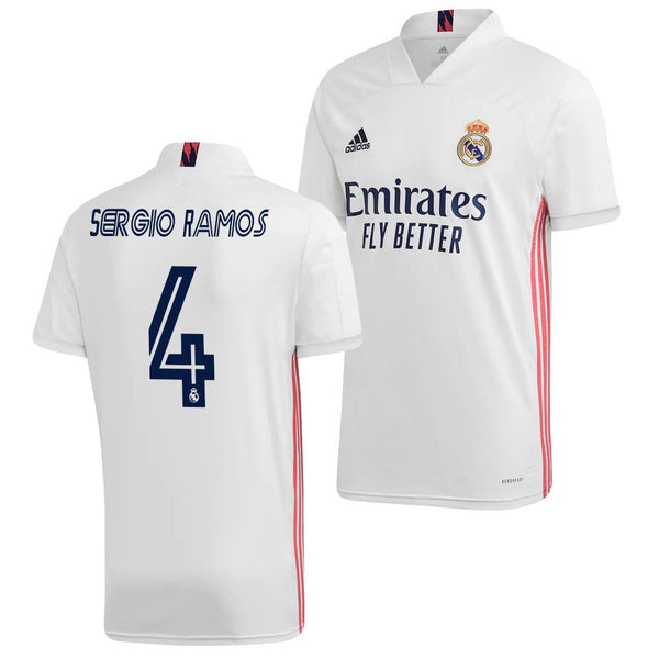 Real Madrid 2020/21 Sergio Ramos Home Jersey