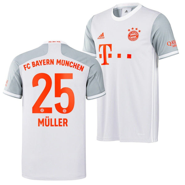 Bayern Munich 2020/21 Thomas Muller Away Jersey