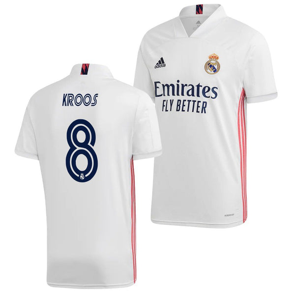 Real Madrid 2020/21 Toni Kroos Home Jersey