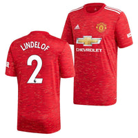 Manchester United 2020/21 Victor Lindelof Home Jersey