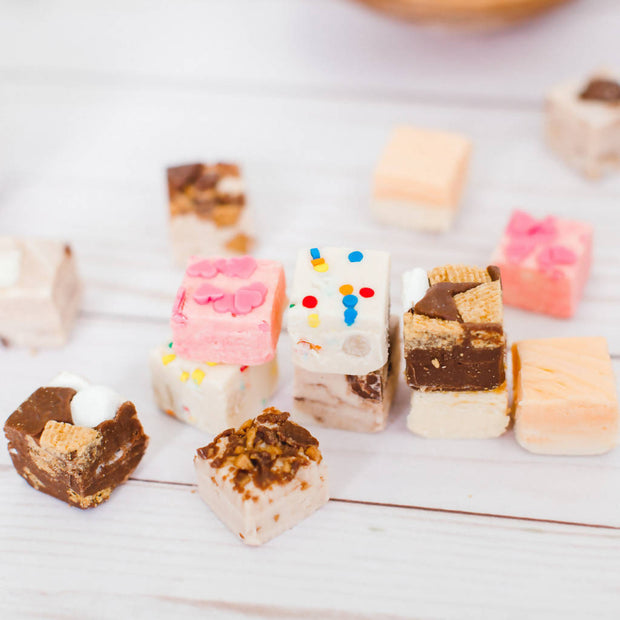 Assorted Fudge - 16pc Spring Box -  Sugar Rush -  marketsquare-collective.myshopify.com