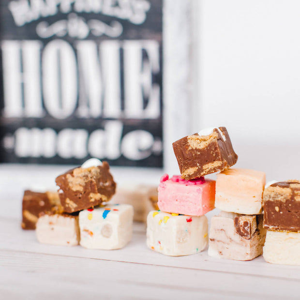 Vanilla Toffee Crunch Fudge - 150g -  Sugar Rush -  marketsquare-collective.myshopify.com