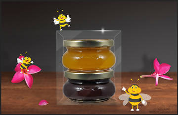 Honey Gift Packs -  Forever Bee -  marketsquare-collective.myshopify.com