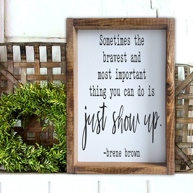 Just Show up -  Lines by Lacey -  marketsquare-collective.myshopify.com