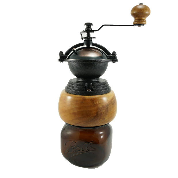 Spalted Maple Coffee Grinder -  Tracy Fine Products -  marketsquare-collective.myshopify.com
