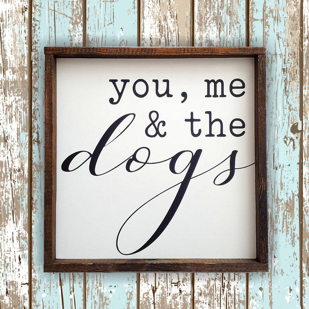 You, Me & the Dogs -  Lines by Lacey -  marketsquare-collective.myshopify.com
